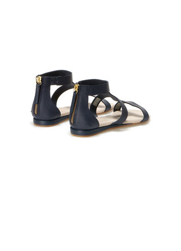 Women's Atalaye Zippered Leather Sandals
