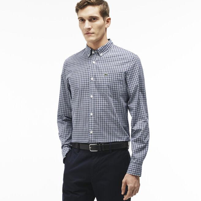 Men's Stretch Poplin Woven Shirt