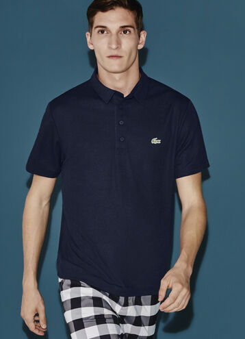 Men's SPORT Regular Fit Ultra Dry Textured Golf Polo Shirt