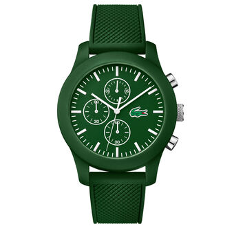 Unisex Lacoste.12.12 Chronograph Green Watch