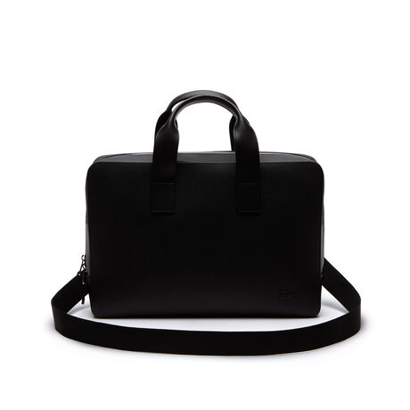 Men's Chantaco Monochrome Coated Leather Computer Bag