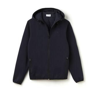 Men's Double Face Jersey Zip Hoody Sweatshirt