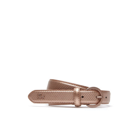 Women's Special Edition Chantaco Piqué Print Leather Belt