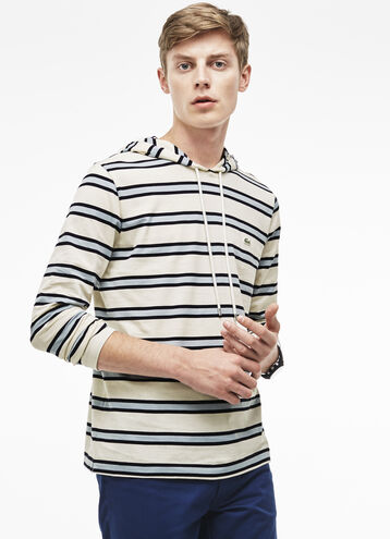 Men's Pima Cotton Hooded Sweatshirt