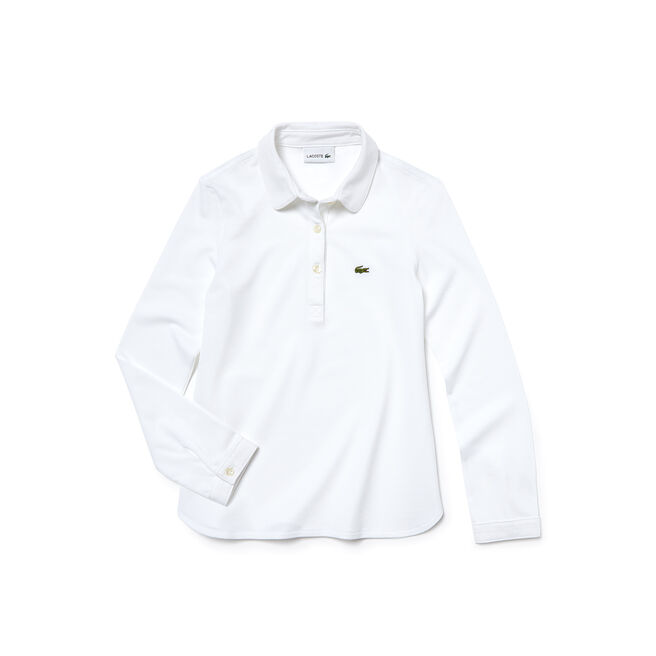 Kids' Flowing Piqué Polo Shirt