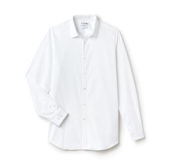 Slim Fit Shirt with Italian Collar
