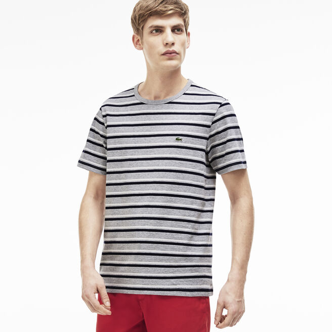 Men's Stripe Crewneck T-Shirt