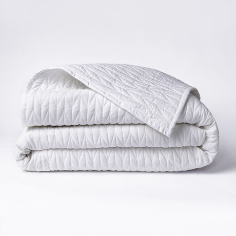Twin Cable Stitch Coverlet