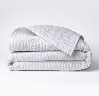 Full/Queen Cable Stitch Coverlet