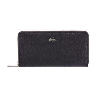Women's Renée Leather Zip Twelve-Card Wallet