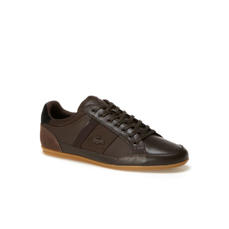 Men's Chaymon Low-Rise Leather And Suedette Sneakers