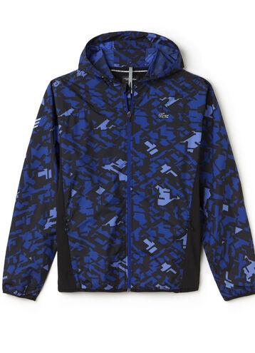 Men's SPORT Hooded Graphic Print Tennis Jacket