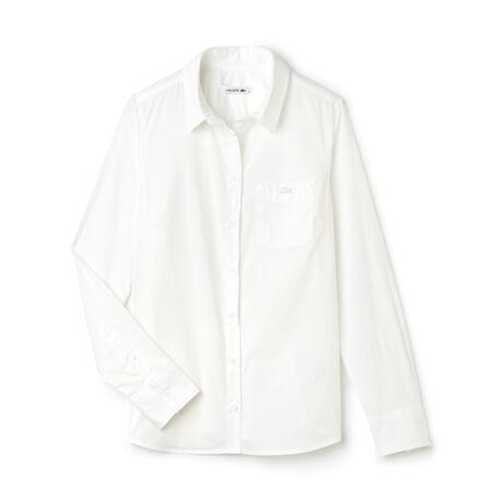 Women's Slim Fit Stretch Poplin Shirt