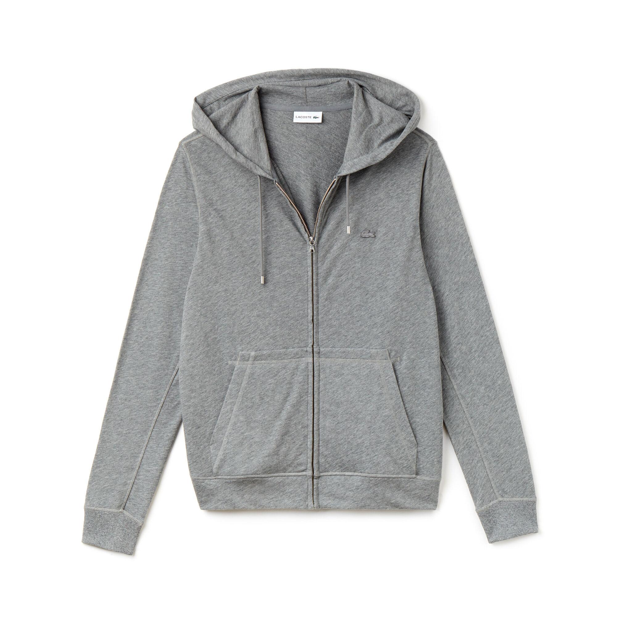 dark grey polo hoodie