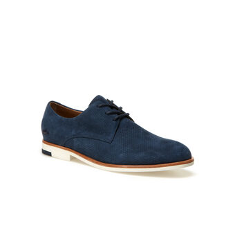 Women's Cambrai Low-Rise Suedette Derbies