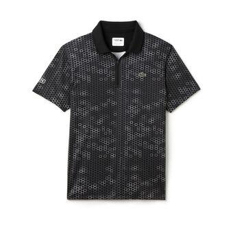 Men's SPORT Ultra Dry Zip Tennis Polo Shirt