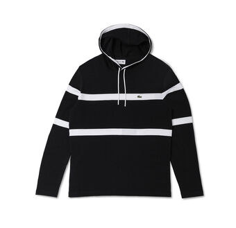 Men's Hoody Stripe T-Shirt