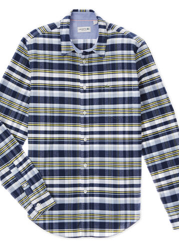 Men's Oxford Check Woven Shirt