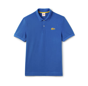 Men's L!VE Stretch Crocodile Piqué Polo Shirt