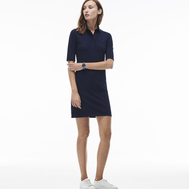 Women's Quarter Sleeve Piqué Polo Dress
