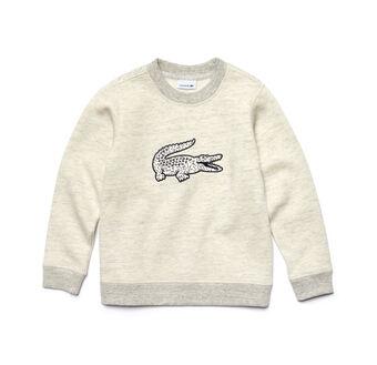 Kids' Oversized Crocodile Flecked Sweatshirt