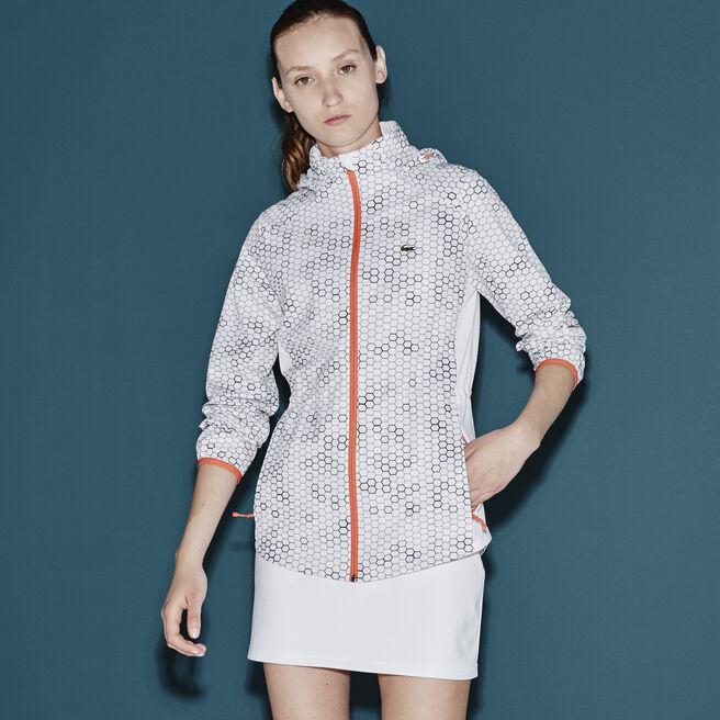 Women's SPORT Geometric Printed Taffeta Jacket