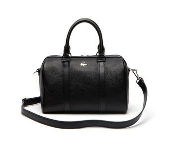 Rene Medium Boston Bag In Leather