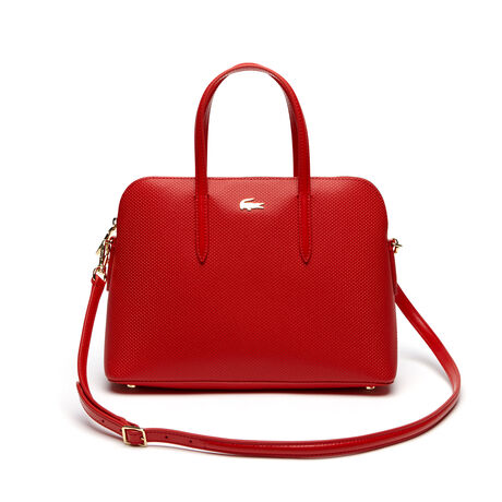 Women's Chantaco Piqué Leather Bugatti Bag
