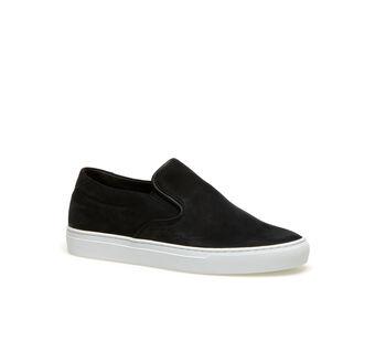 Men's Alliot Nubuck Leather Slip-Ons