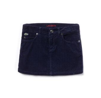 Girl's 5-Pocket Corduroy Skirt