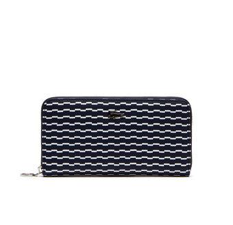 Women's Daily Classic Broken Waves Zip Wallet