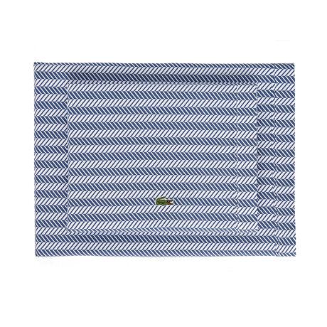 Queen Herringbone Pillow Case Set