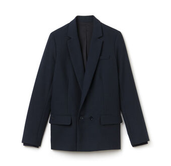 Women's Cotton Wool Caviar Blazer