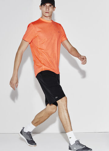 Men's SPORT Stretch Taffeta Mesh-Lined Shorts