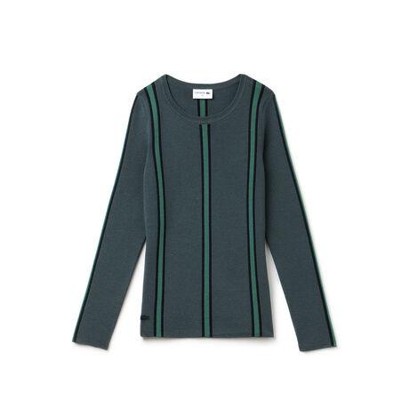 "Women's ""Made in France"" Vertical Stripe Sweater"