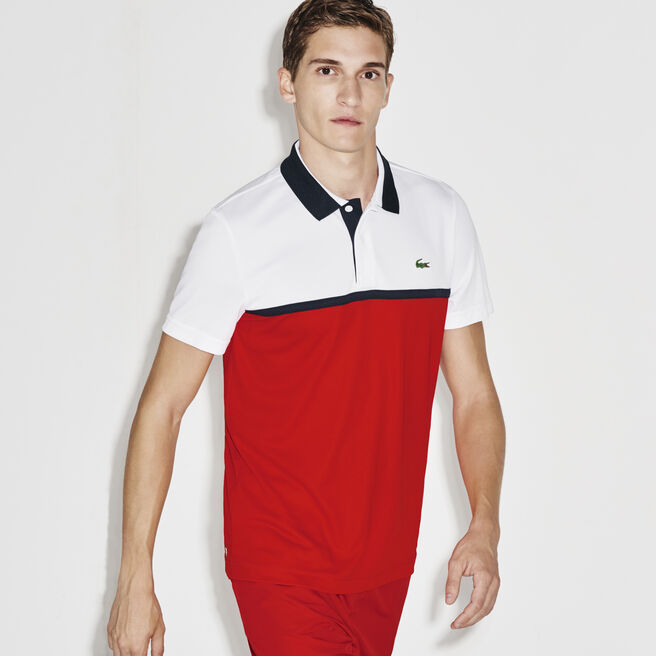 Men's SPORT Ultra Dry Resistant Piqué Tennis Polo Shirt