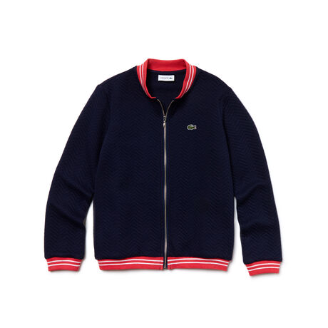 Kid's Polka Dot Fleece Zippered Sweatshirt