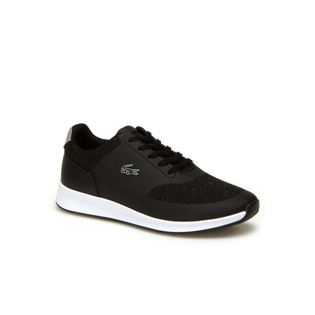 Women's Chaumont Lace Bi-Material Lurex Sneakers