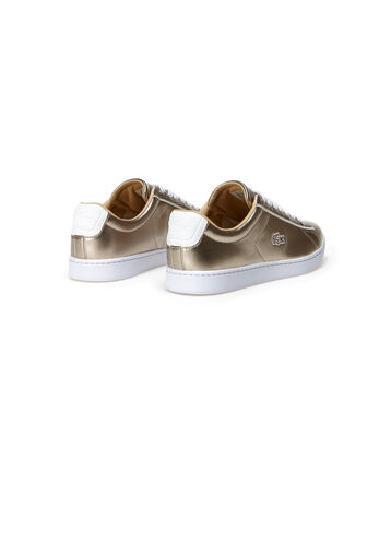 Women's Carnaby Evo Low-Rise Metallic Leather Sneakers