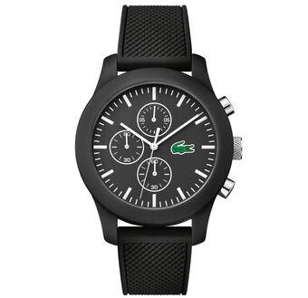 Unisex Lacoste.12.12 Chronograph Black Watch