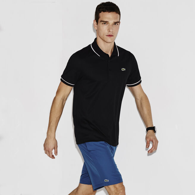 Men's SPORT Ultra-Dry Piping Tennis Polo Shirt
