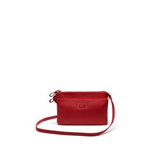 Women's Classic Double Zip Crossbody Bag