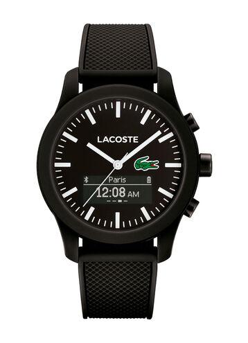 Unisex Lacoste.12.12 Contact Black Smartwatch