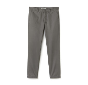 Men's Twill Slim Fit Pants