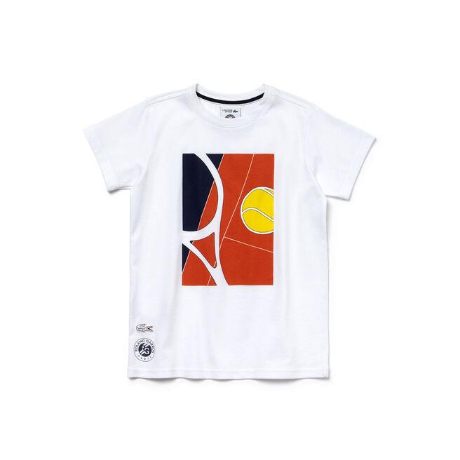 Boy's SPORT French Open Player Print T-Shirt
