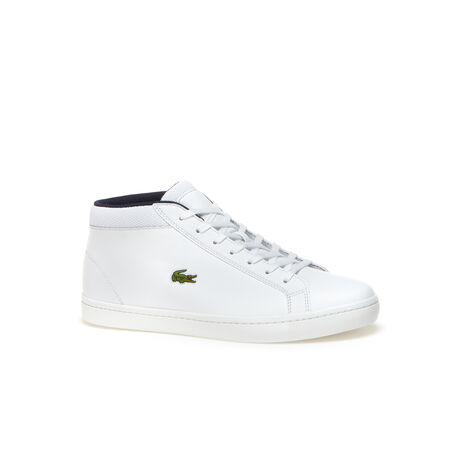 Sevrin Trainers in high-quality leather with felt heel detail - LACOSTESevrin Trainers in high-quality leather with felt heel detail - 웹