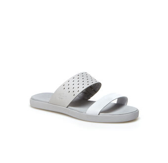 Women's Natoy Color Block Leather Slide Sandals