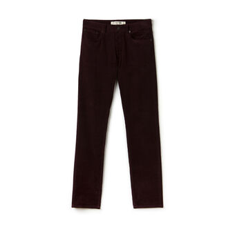 Men's Slim Fit 5 Pocket Corduroy Pants