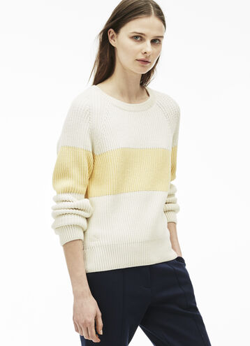 Women's Bold Stripe Sweater