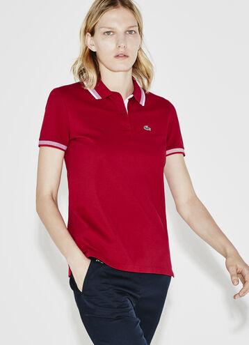 Women's SPORT Contrast Tipped Polo Shirt